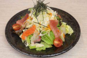 千寿ねぎの海鮮サラダ